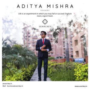 aditya Mishra founder